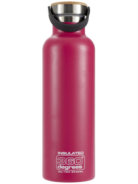 360° degrees Vacuum Insulated Drink Bottle 750ml Pink